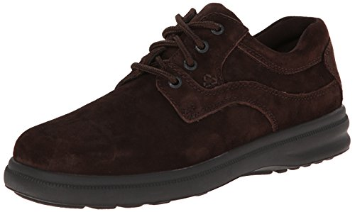 Hush Puppies Men's Glen Oxford, Brown Suede, 12 W US