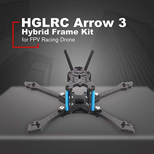 Wikiwand HGLRC Arrow 3 inch Hybrid Frame Kit Arm 4mm for FPV Racing Drone Frame Kit by Wikiwand (Image #1)