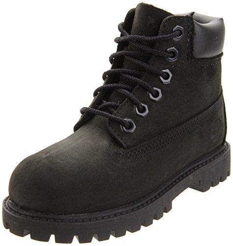 Timberland 6-Inch Premium Waterproof Boot ,Black Nubuck,5.5
