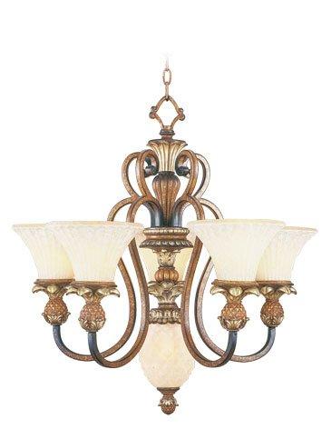 Venetian Patina Savannah 5 Light 2 Tier Chandelier (Light Two Collection Savannah)