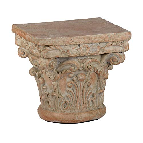 A&B Home 73379 Decorative Pedestal, 10 by 10 by 9-Inch ()