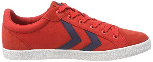 Deuce Top Unisex Low Summer Hummel Court Rot Red Erwachsene Fiery 4E1Wwqg