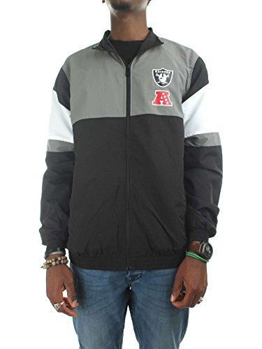 entretiempo O F Chaqueta New Oakland de Negro Chaquetas Era Raiders Hombres R 41ZwqqC6Wa
