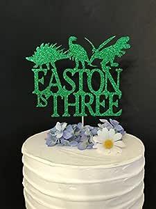 Decoración para tarta de dinosaurio Rummy, decoración para ...