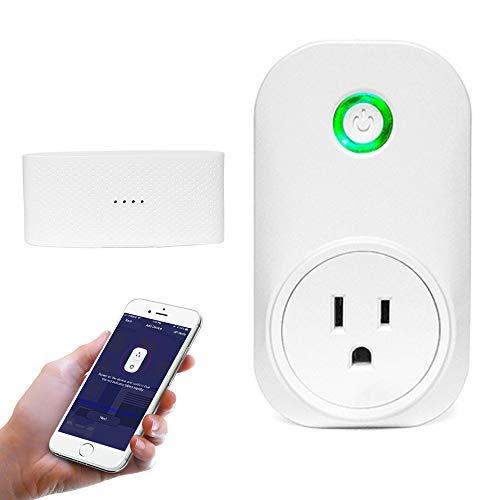 TAOPE Smart WiFi Garage Door Opener Remote Controller Compatible with Amazon Alexa Google Home IFTTT, No Hub Needed