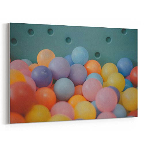 Westlake Art - Balloon Blue - 16x24 Canvas Print Wall Art -