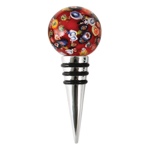 Bottle Stoppers by Blush (Murano Glass Wine Stoppers)