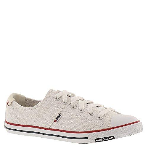 BOBS from Skechers Women's Lotopia Fashion Sneaker,White,9.5 M US