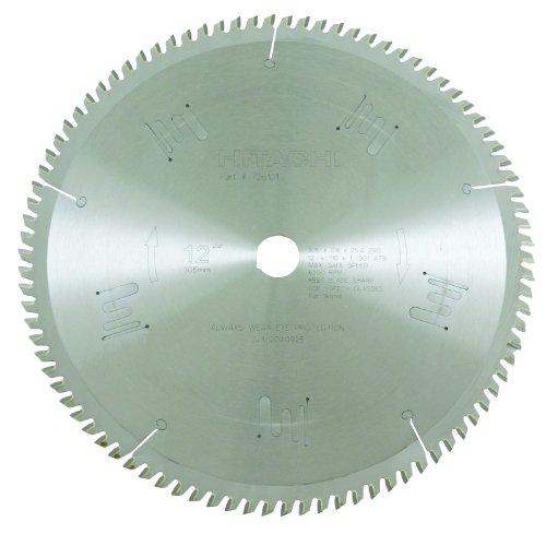 Hitachi 726101 90-Teeth Tungsten Carbide Tipped 12-Inch ATB 1-Inch Arbor Finish Saw Blade