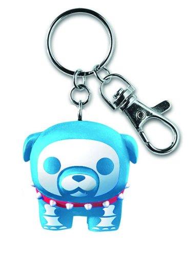 Skelanimals: Blue Maxx the BullDog Keychain