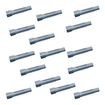Universaldübel 50 Stück  10mm mit Kragen Dübel