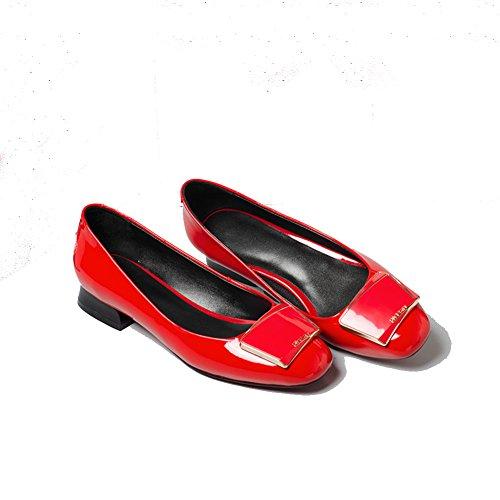 Señora luz cruda con los zapatos de la primavera/Zapatoscómodosdemodacoreana/Zapatos de mujeres salvajes del A