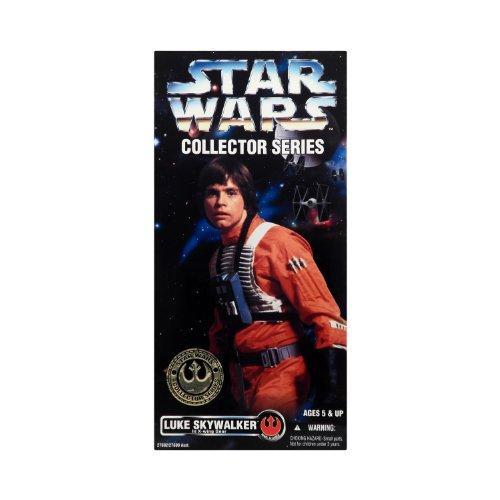 1996 Star Wars 12 Action Figure Collector Series - Luke Skywalker in X-Wing ...