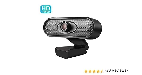 PC//Mac//ChromeOS//Android Hangouts FaceTime VERORAS Webcam Full HD 1080P USB con micr/ófono integrado para Skype etc