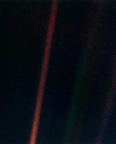 (NASA Voyager 1 Earth Pale Blue Dot Print Poster)