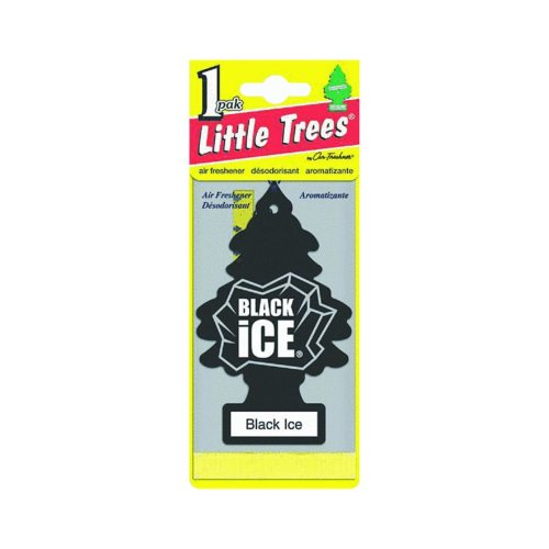 Little-Trees Black Ice Little Tree Air Freshener- 6 Pack