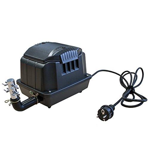JAD SES30 Luftpumpe / Membranpumpe für Teich & Aquarium 30l/min 1800l/h nur 25W hochwertige Airpump