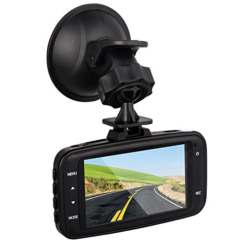 "Btopllc GS8000L 2.7"" Full HD 1080P Car DVR/Driving Data Recorder Camcorder Vehicle Camera with Night Vision, Compact and Portable DVR G-Sensor and Motion Detection / TF Card (Up to 32 GB) Supported"
