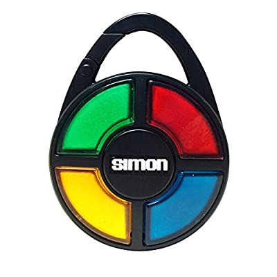 Basic Fun Simon Electronic Carabiner Hand-Held Memory Game: Toys & Games