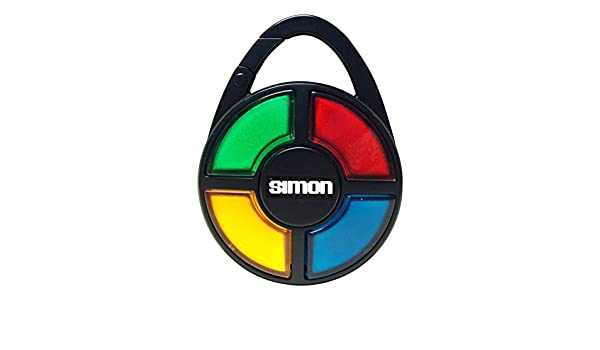 Simon Electronic Carabiner Hand-Held Memory Game: Amazon.es ...