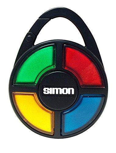 Basic Fun Simon Electronic Carabiner Hand-Held Memory Game
