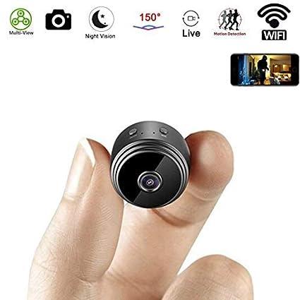 Wi-Fi oculta cámara Mini espía cámara Wireless HD 1080p Home pequeño seguridad cámaras incorporado