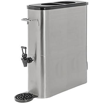 Amazon.com: winco ssbd-5 Dispensador Acero inoxidable Ice ...