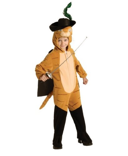[Deluxe Puss N Boots Costume - Medium] (Puss N Boots Costumes)