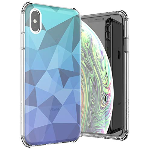 BALLISTIC Jewel Mirage Series for iPhone Xs MAX - Blue Gradient ()