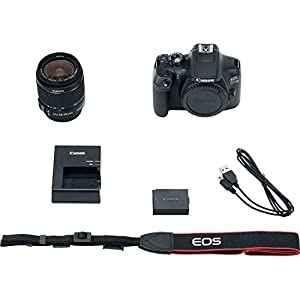 Canon EOS Rebel T6 Bundle With EF-S 18-55mm f/3.5-5.6 IS II Lens + Best Canon Camera Advanced Accessory Kit - Including EVERYTHING You Need To Get Started by WhoIsCamera