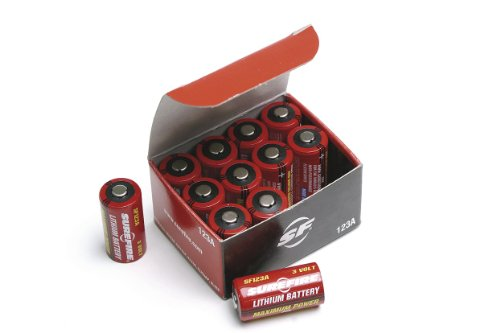 Surefire 12 Pack Boxed 123A Lithium Batteries, Best Gadgets