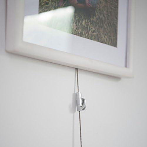 Queenwind のの写真の吊りシステムハンガー 1.5-2mm ケーブルのための調節可能なホック