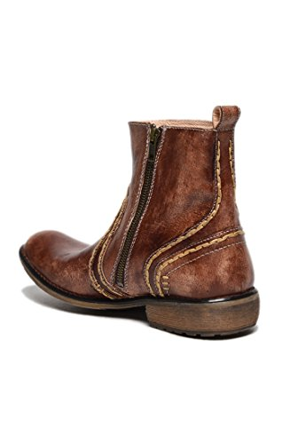 Image of Bed|Stu Men's Revolution Leather Boot (10.5 D(M) US, Teak Driftwood)