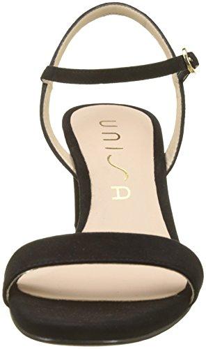 Unisa Women's Mabre_ks Ankle Strap Sandals Black (Black Black) UUgTY8RDl