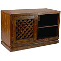 NES Furniture Nes Fine Handcrafted Furniture Solid Mahogany Wood Mississippi TV Stand / Console Table - 47