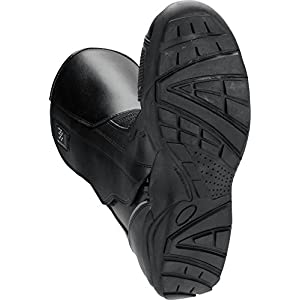 Tour Master Solution WP Air Road Mens Leather Sports Bike Motorcycle Boots - Black / Size 11W