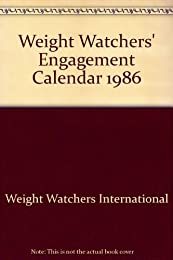 Weight Watchers' Engagement Calendar 1986