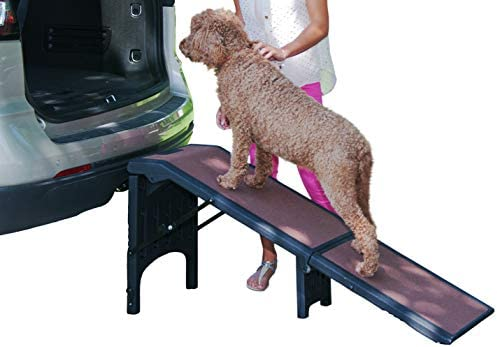Pet Gear Free Standing Ramp for Cats and Dogs. Great for SUV s or use Next to Your Bed. 4 Models to Choose from, Supports 200-300 lbs, Lightweight Easy-Fold Design