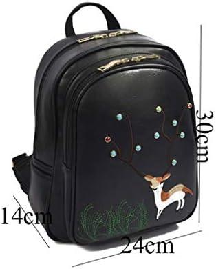 GZQDX Zaino Fashion Mini Zaino di Pelle Donna Donne Zaino Borsa Ragazze di Scuola Tote Laptop Bag Borsa da Viaggio