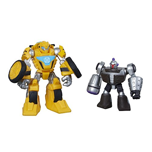 Transformers Rescue Bots Bumblebee and Morbot