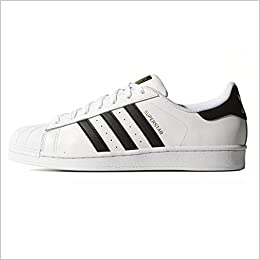 competitive price 8a567 5bf15 ADIDAS SUPERSTAR CLASSIC BIANCO-NERO S81858 - 42-2-3, BIANCO  Amazon.it   Libri