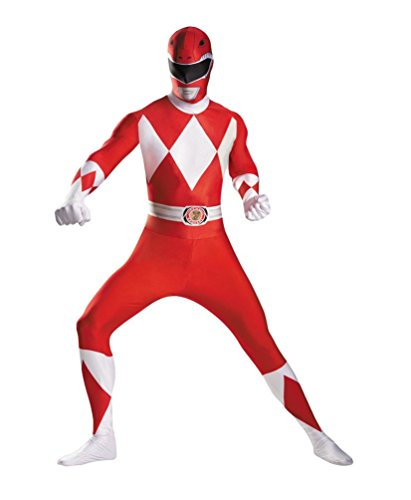 Red R (Power Ranger Suit For Adults)