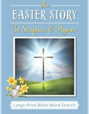 Large-Print Bible Word Search: The Easter Story in Scripture & Traditional Hymns