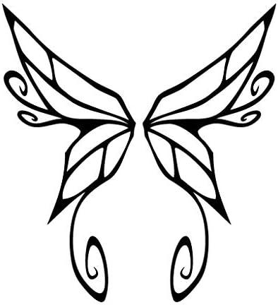 Leon Online Box Wings Butterfly Net – Adhesivo de Vinilo Tribal ...