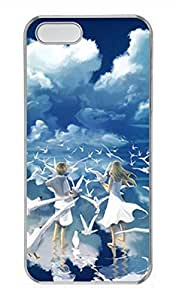 Case For Iphone 6 4.7 Inch Cover The Blue Sky White Clouds Boys And Girls Cover Skin Case For Iphone 6 4.7 Inch Cover Cases Transparent