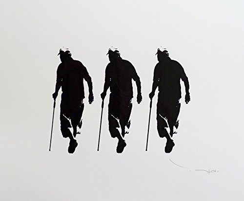 Tehos - Three old men with canes by