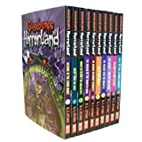 GOOSEBUMPS HORRORLAND 10-BOOK SET (Revenge of the Living Dummy, Creep from the Deep, Monster Blood for Breakfast, The Scream of the Haunted Mask, Who's Your Mummy?, My Friends Call Me Monster, Say Cheese -- and Die Screaming!, Welcome to Camp Slither, Help! We Have Strange Powers!, and Escape from HorrorLand)