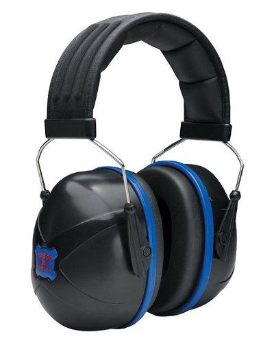 Tasco 3006 Nextera Over-the-Head Earmuffs, NRR=30, Black