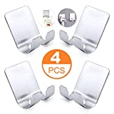 BRYUBR Razor Holder Self Adhesive Hooks - Sticking Wall Hanger...