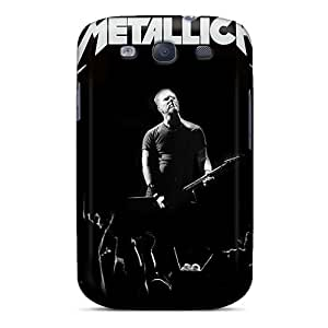 Scratch Protection Cell-phone Hard Covers For Samsung Galaxy S3 (NEX5405XeYF) Customized Attractive Metallica Pictures